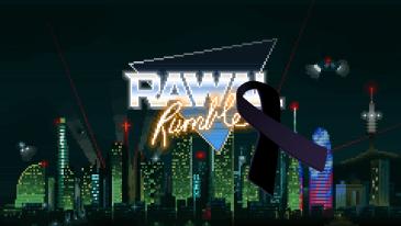 Rawal Rumble - Crespón negro